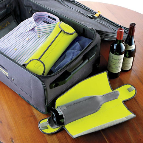 Wine Enthusiast 951 25 01 BottleGuard Neoprene Wine Protector - Peazz.com