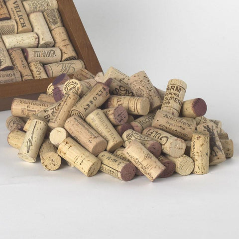 Wine Enthusiast 981 05 01 Recycled Premium Corks (Set of 50) - Peazz.com