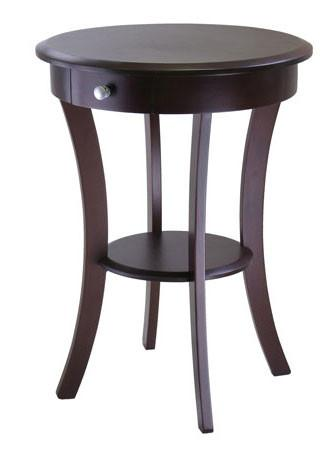 Winsome Wood Sasha Round Accent Table 40627 - Peazz.com