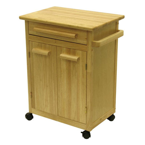 Winsome Wood 82027 Kitchen Cart with One Drawer, cabinet - Peazz.com