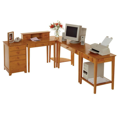 Winsome Wood 99555 Studio 5pc Home Office Set - Peazz.com