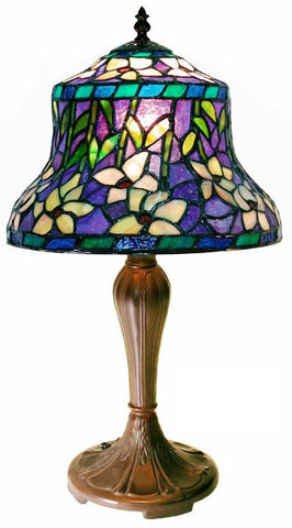 Tiffany Style Accent Table Lamp by Warehouse of Tiffany 1944+MB178 - Peazz.com