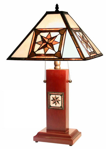 Tiffany Style Mission Table Lamp by Warehouse of Tiffany 2386+BB667 - Peazz.com