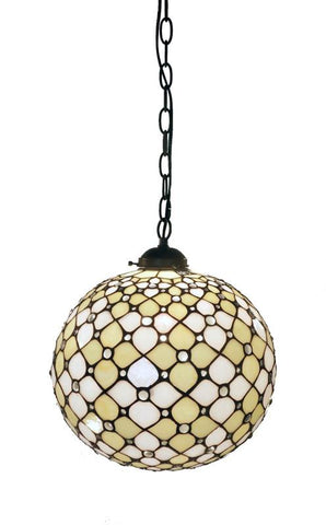 Warehouse of Tiffany NN131231 or NN131247  Tiffany Style Pearl of the Orient  Table Lamp - Peazz.com