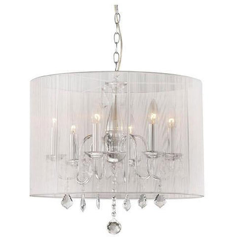 Warehouse of Tiffany RL3133  Gertrude Crystal Chandelier - Peazz.com
