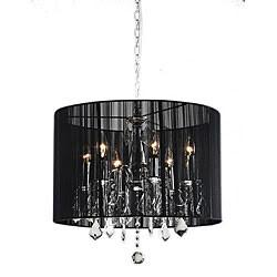 Warehouse of Tiffany RL3134 Sylvia Crystal Chandelier - Peazz.com