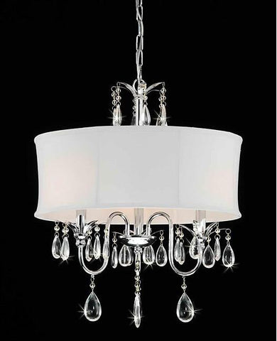 Warehouse of Tiffany RL3207 Melissa Crystal Chandelier - Peazz.com