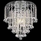 Warehouse of Tiffany RL4577 Candace Crystal-Chrome Chandelier - Peazz.com