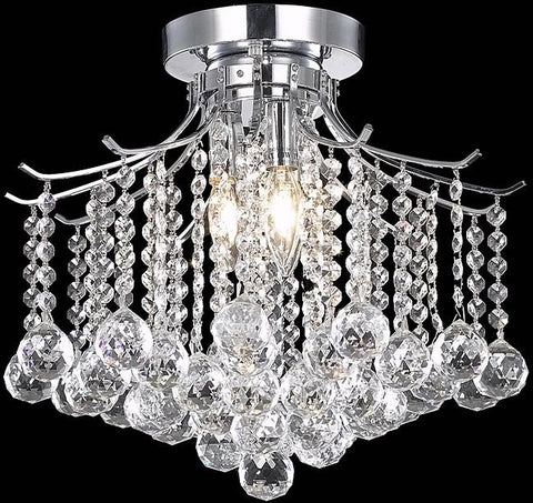 Warehouse of Tiffany RL4804 Matilda Crystal Chandelier - Peazz.com
