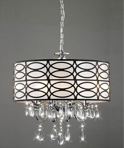 Warehouse of Tiffany RL4825 Olga Crystal Chandelier - Peazz.com
