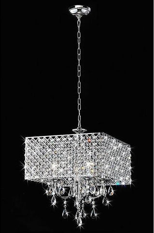 Warehouse of Tiffany RL5623 Zarah Crystal Chandelier - Peazz.com