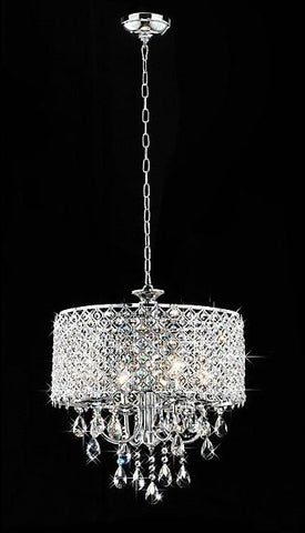 Warehouse of Tiffany RL5633 Angelina Crystal Chandelier - Peazz.com