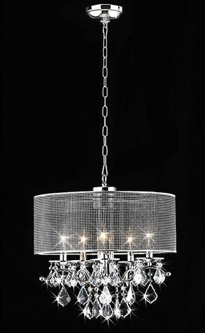 Warehouse of Tiffany RL5634 Isabelle Crystal Chandelier - Peazz.com
