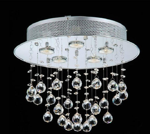 Warehouse of Tiffany RL5676 Scarlett  Crystal Chandelier - Peazz.com