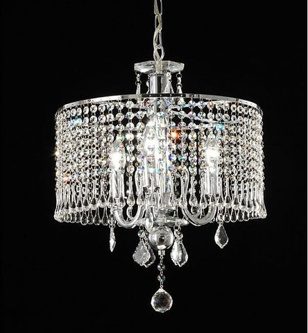 Warehouse of Tiffany RL8310 Elija Crystal Chandelier - Peazz.com