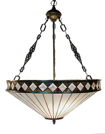 Warehouse of Tiffany TH4P-2 Tiffany Style Light Pendant Lamp - Peazz.com