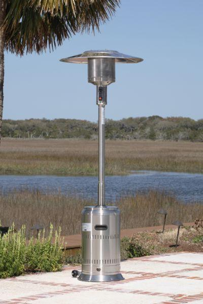 Well Traveled Living 1775 Stainless Steel Commercial Patio Heater