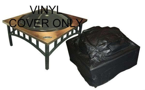 Well Traveled Living 2056 Outdoor Square Fire Pit Vinyl Cover - Peazz.com