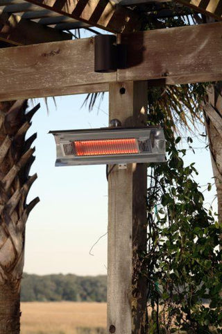 Well Traveled Living 2110 Stainless Steel Wall Mounted Infrared Patio Heater - Peazz.com