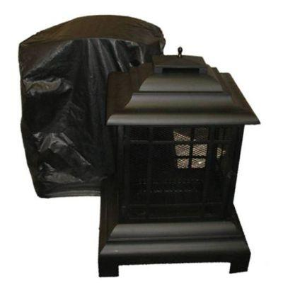 Well Traveled Living 60370 Outdoor Patio Fireplace Vinyl Cover - Peazz.com