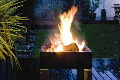 Well Traveled Living 60454 Square Fire Pit - Peazz.com