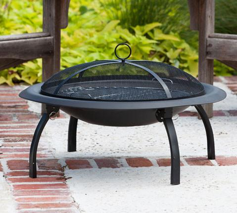 "Well Traveled Living 60838  29"" Folding Fire Pit - Peazz.com"