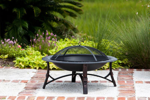 Well Traveled Living 60857 Roman Fire Pit - Peazz.com