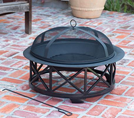 "Well Traveled Living 60904 30"" Portsmouth Fire Pit - Peazz.com"