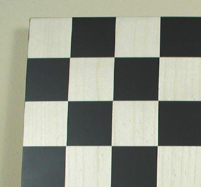 "14"" Black/Maple Chess Board, 1 3/4"" Square - Peazz.com"