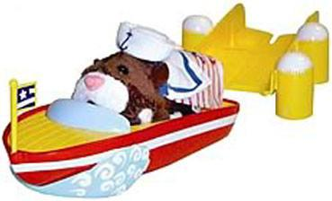 Zhu Zhu Pets Accessory Set Speed Boat & Dock Hamster NOT Included! - Peazz.com