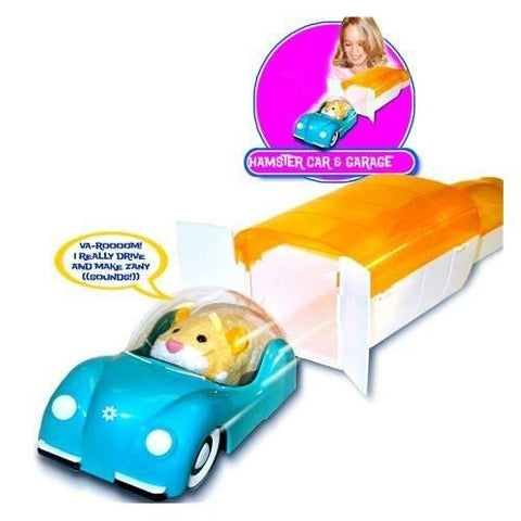 Zhu Zhu Pets Add On Playset Hamstermobile Garage With Car Hamster NOT Included! - Peazz.com