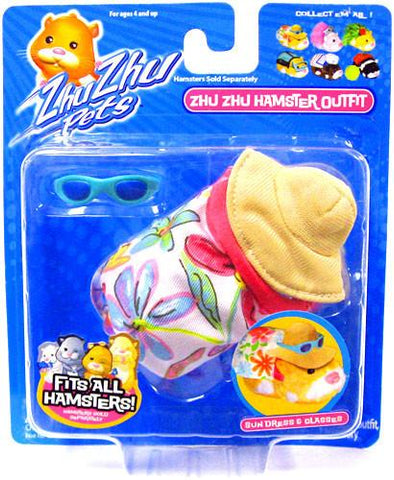 Zhu Zhu Pets Hamster Outfit Sundress With Hat Hamster NOT Included! - Peazz.com