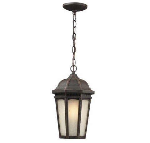 Z-Lite Newport Collection Antique Bronze Finish Outdoor Chain Light - Peazz.com