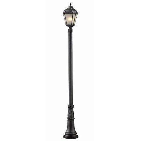 Z-Lite 513phm-518p-wb Waverly Collection 2 Light Outdoor Post Light - Peazz.com