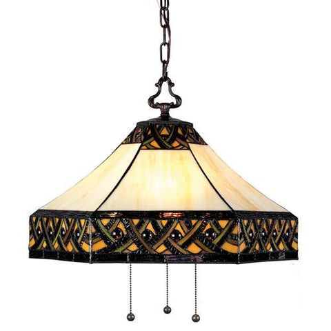 Z-Lite Addison Chestnut Bronze 3 Light Pendant Z20-30-03B - Peazz.com