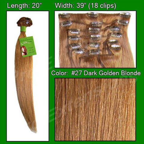 Pro-Extensions PRST-20-27   #27 Golden Blonde - 20 inch - Peazz.com
