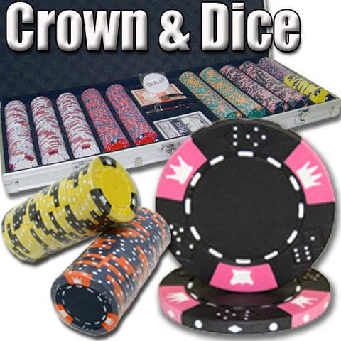 Brybelly PSC-0403CAL500 500 Ct - Custom Breakout - Crown & Dice 14 G - Aluminum - Peazz.com
