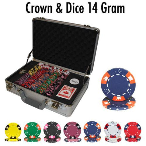 Brybelly PSC-0403CS300 300 Ct - Pre-Packaged - Crown & Dice - Claysmith - Peazz.com