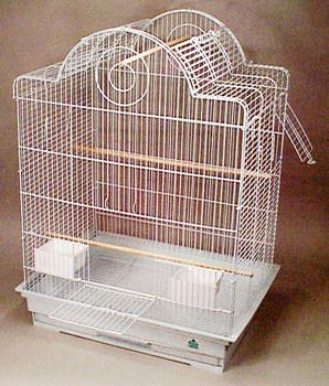 T5 Keet Flight Cage White 2 - pack - Peazz.com