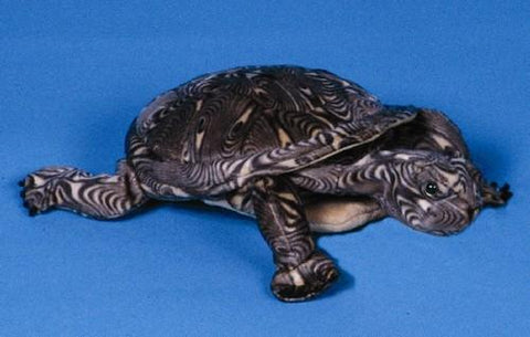 "12"" Wood Turtle Puppet - Peazz.com"