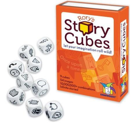 Gamewright TGMW-12 Rory's Story Cubes - Peazz.com