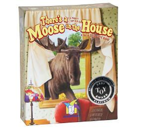 Gamewright TGMW-17 There's a Moose in the House - Peazz.com