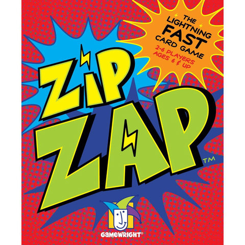 Gamewright TGMW-29 Zip Zap lightning-fast card game - Peazz.com