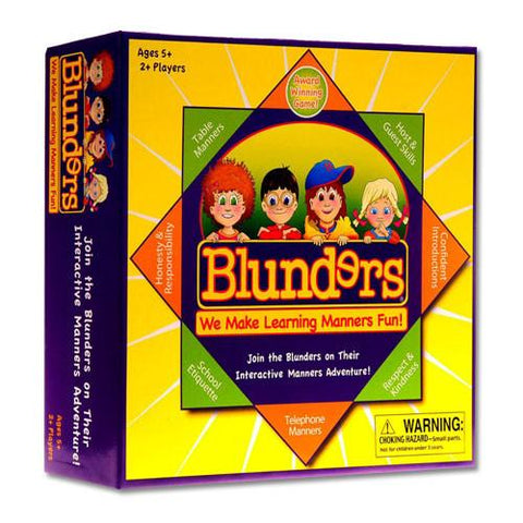 Successful Kids TPTW-01 Blunders Board Game - Peazz.com