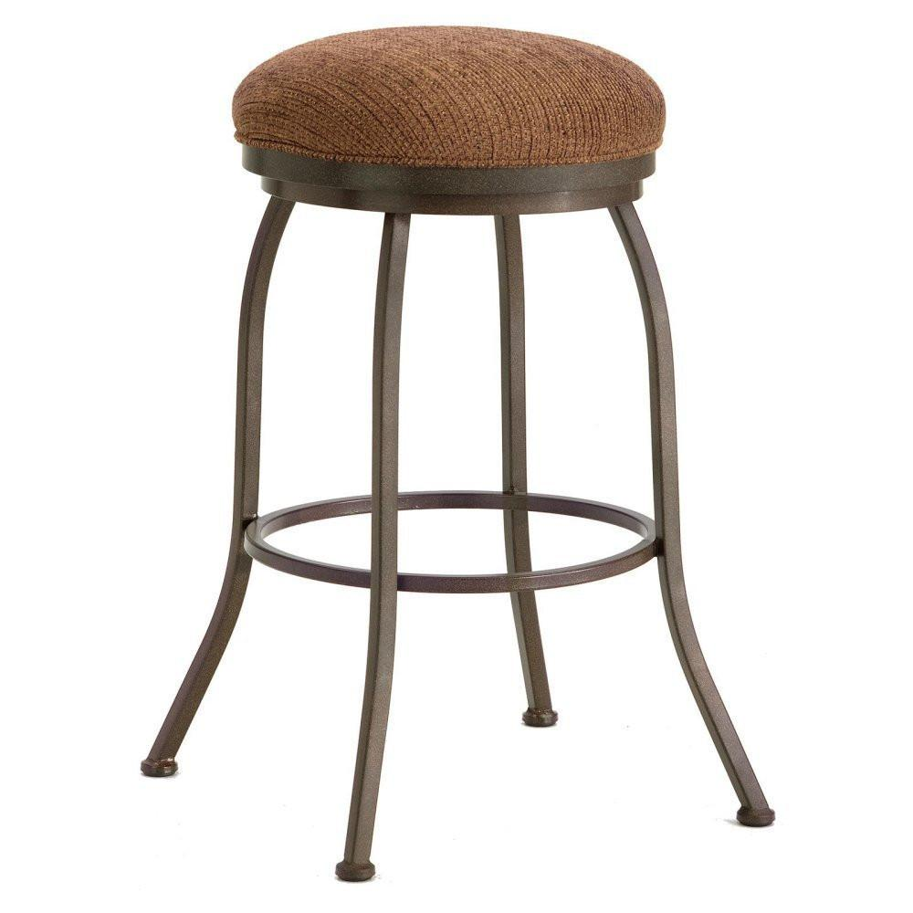 Height   Fabric   Stool   Brown   Rust   Ford   Hill   Seat   Bar