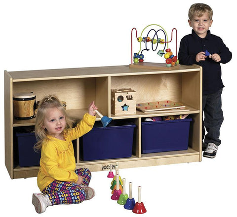 "ECR4Kids ELR-0419 24"" Birch Storage Cabinet - 5 Compartments - Peazz.com"