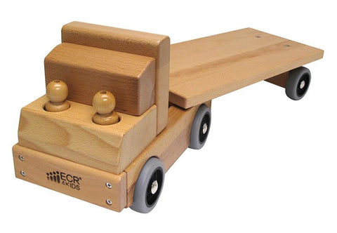 ECR4Kids ELR-19104 Transportation Vehicle - Flat Bed Truck - Peazz.com