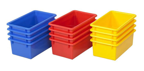ECR4Kids ELR-20505-AS Stack & Store Tub without Lid 15 Piece - AS - Peazz.com