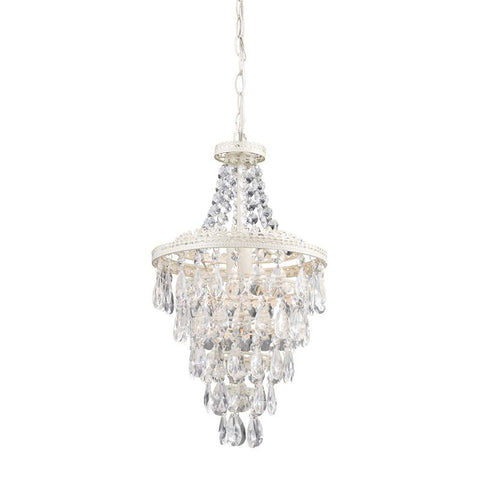 Sterling Industries 122-002 Clear Crystal Pendant Lamp - Peazz.com
