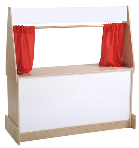 ECR4Kids ELR-0695 Puppet Theater - Dry-Erase Board - Peazz.com